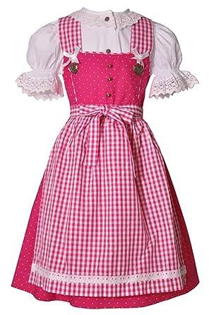 Niño tirolesa verica Rosa Trachten Juego de 3 piezas traje ...