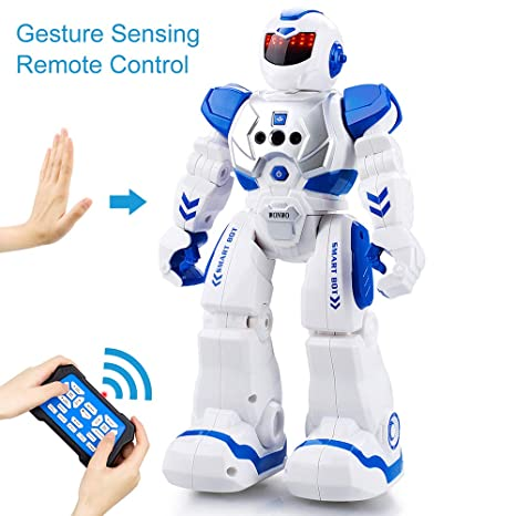 Voice Robot Smart Voice Recognition Robot Gesture Sensing Touch Intelligent Programmable Walking Dancing Smart Robot Consumer Electronics