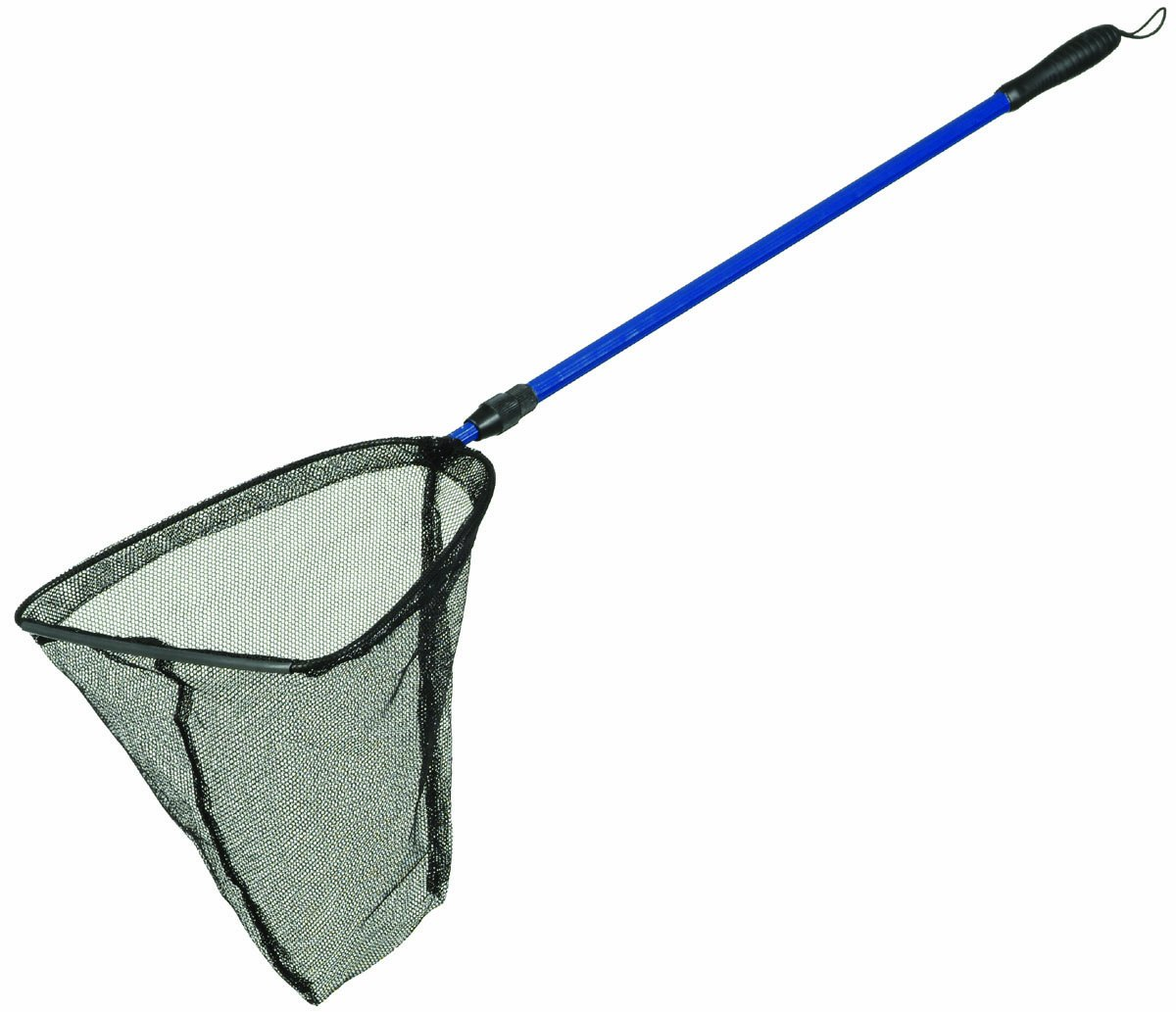 Pond fish net 14 diameter 33 60 telescopic handle ebay for Telescoping fishing net