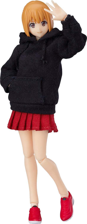 figma Styles 女性body [エミリ] with パーカーコーデ