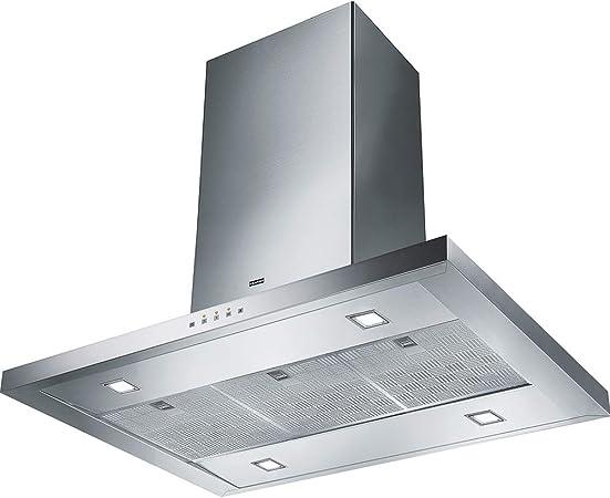 Franke kitchen systems - Franke formato fdf 9354 i xs isla campana extractora acero inoxidable campana techo montaje 90 cm: Amazon.es: Hogar
