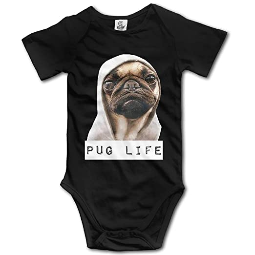 32f0c5cc8 Amazon.com: Pug Life Fashion Baby Onesies: Clothing