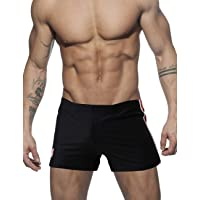 Minaso Mens Slim Fit Shorts Bodybuilding Gym Running Workout Shorts Swimming Trunks