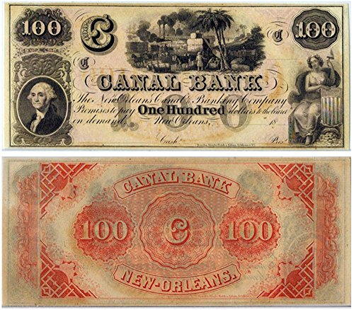 (1848 RARE ORIGINAL ANTEBELLUM LOUISIANA