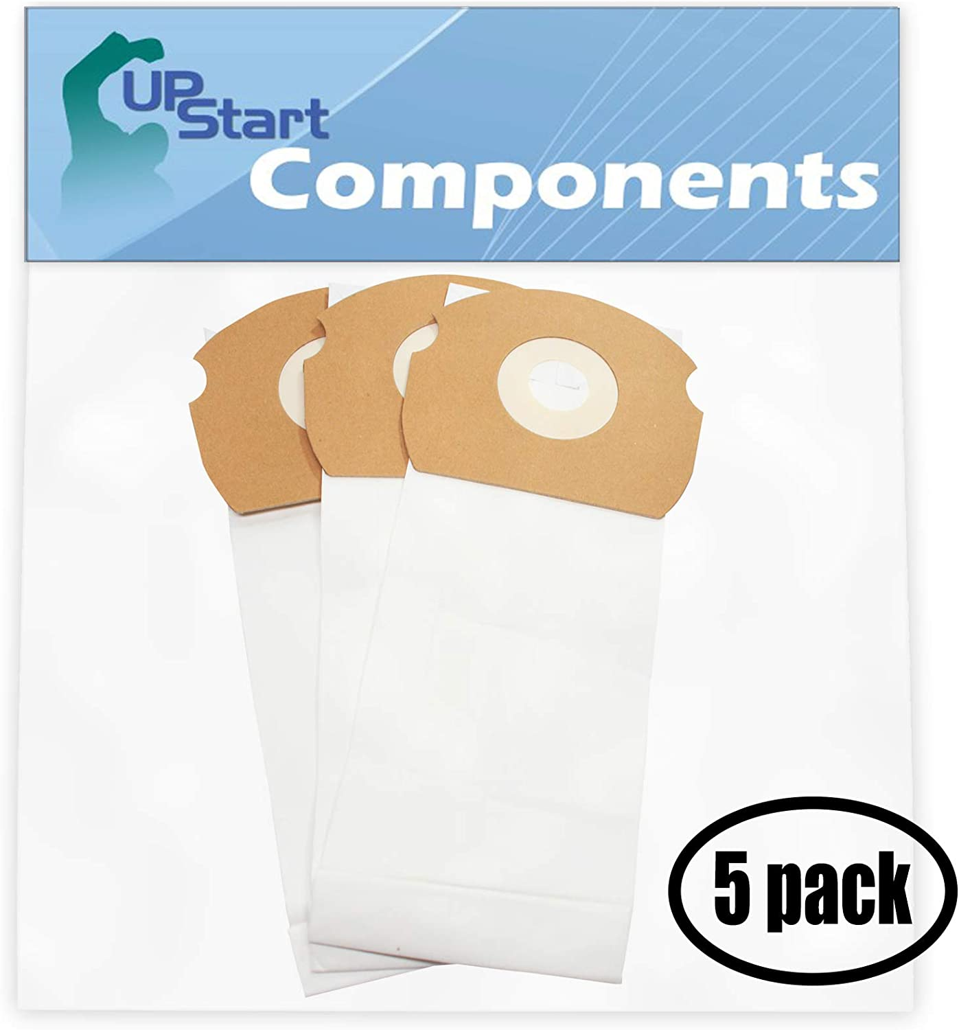 Upstart Battery 15 Replacement for Eureka Airspeed AS1050 Vacuum Bags - Compatible with Eureka 68155, AS Vacuum Bags (5-Pack - 3 Vacuum Bags per Pack)