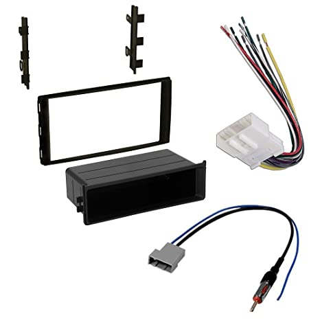 amazon com car stereo dash install mounting kit wire harness Stereo Wiring Harness