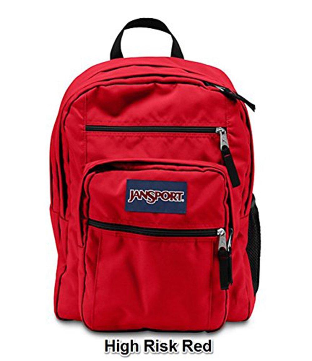 JanSport Big Student Solide Farben Rucksack B1025: High Risk Red ...