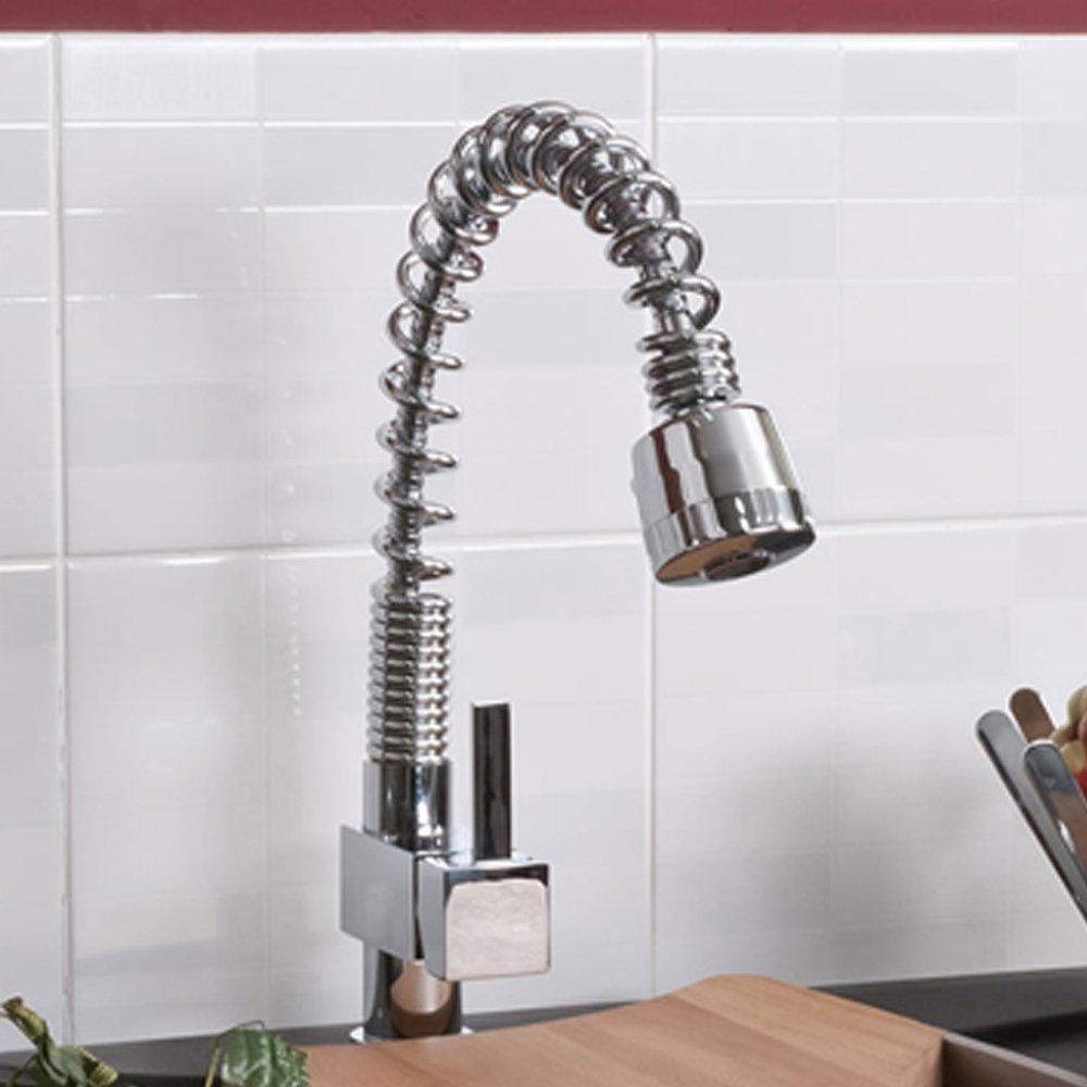 Kitchen Sink Shower Martin chrome kitchen sink pull out shower tap ibathuk amazon martin chrome kitchen sink pull out shower tap ibathuk amazon diy tools workwithnaturefo