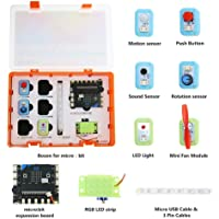 DFRobot Boson Starter Kit for Micro:bit - Microbit inventor's kit Included Sensor Kit and Expansion Board - Suitable for…