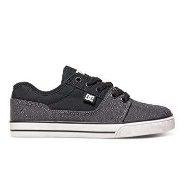DC Boys Tonik TX SE Shoes, Grey/Black/White, 3.5M