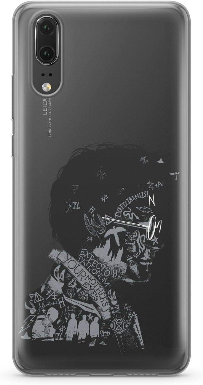 Finoo Handyh/ülle kompatibel f/ür Huawei P20 H/ülle mit Motiv und Optimalen Schutz TPU Silikon Tasche Case Cover Schutzh/ülle Harry Potter Portrait