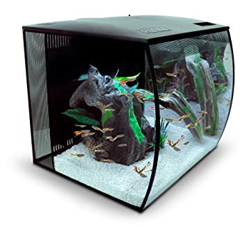Aquarium Nano Aquarium 20 Liter 13 Stück Grade Produkte Nach QualitäT Fische & Aquarien