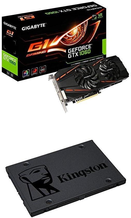 Gigabyte GeForce GTX 1060 G1 Gaming 6G - Tarjeta gráfica Nvidia y ...