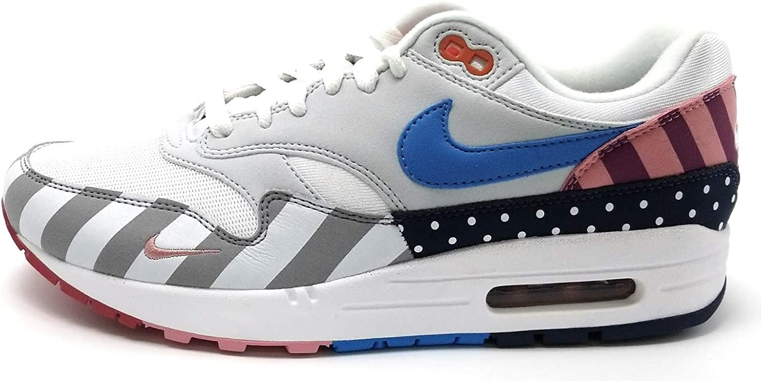 | Nike Air Max 1 Parra US 8 WhitePure Platinum