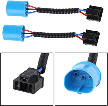 9007 Male to H4 Adapter for Hummer H2 Headlights  Headlight Wiring Diagram on 9007 headlight bulbs, 9007 headlight plug, 9007 headlight housing,
