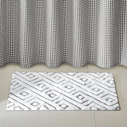 Cedric Cotton tufted rug Grey 20x30'' by Madison Park