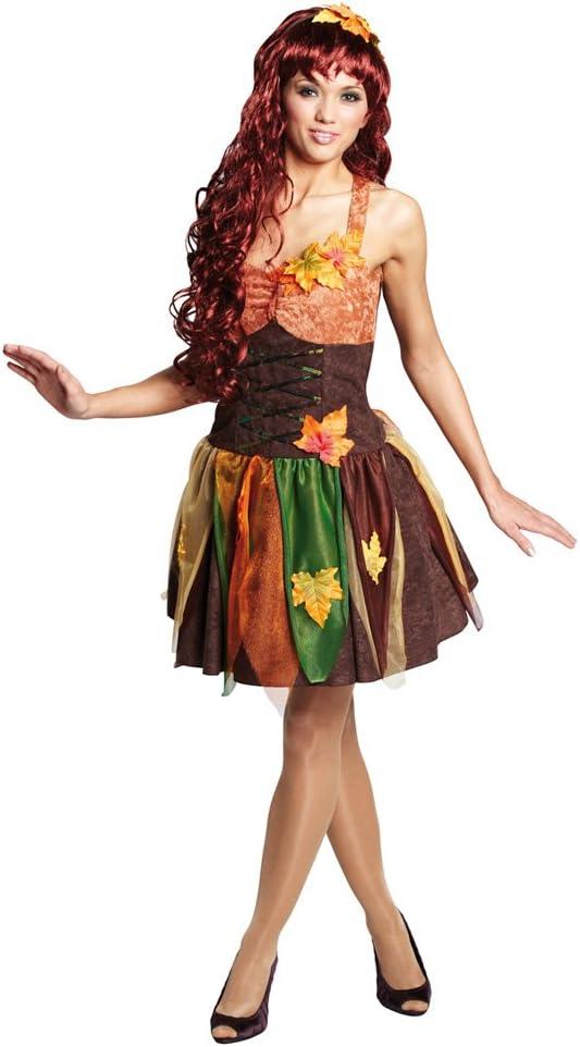Disfraz de hada bosque elfo Ahillea Herbstfee disfraz de hada ...