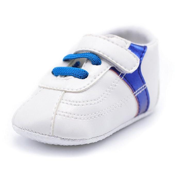5a9a06ea2b8 YanHoo Zapatos para niños Zapatillas antirresbaladizas Antideslizantes con  Suela de Suela Blanda para niños pequeños bebés bebés niños Zapatos de bebé  de ...