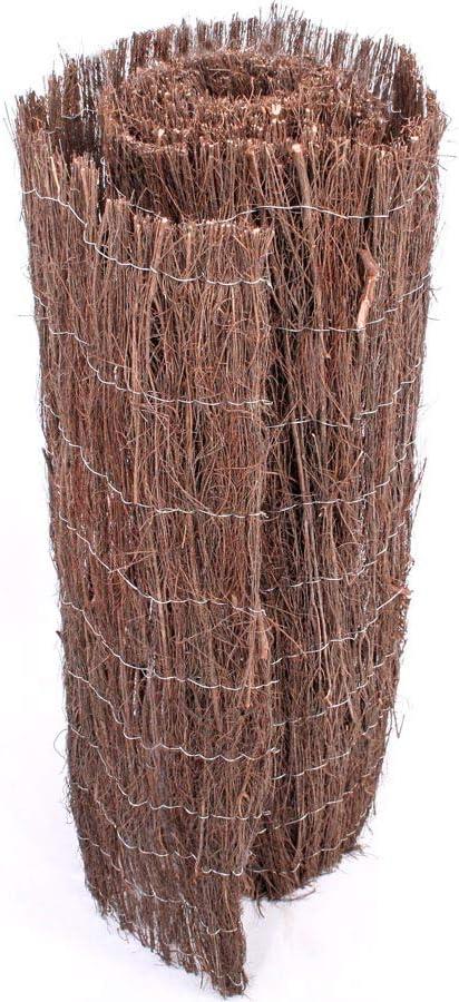 Heide Estera barato de Brezo (100 x 500 cm, aprox. 1 cm grosor MA-Trading – Estera Premium Calidad – Aprox. 0, 9 kg/m²: Amazon.es: Jardín