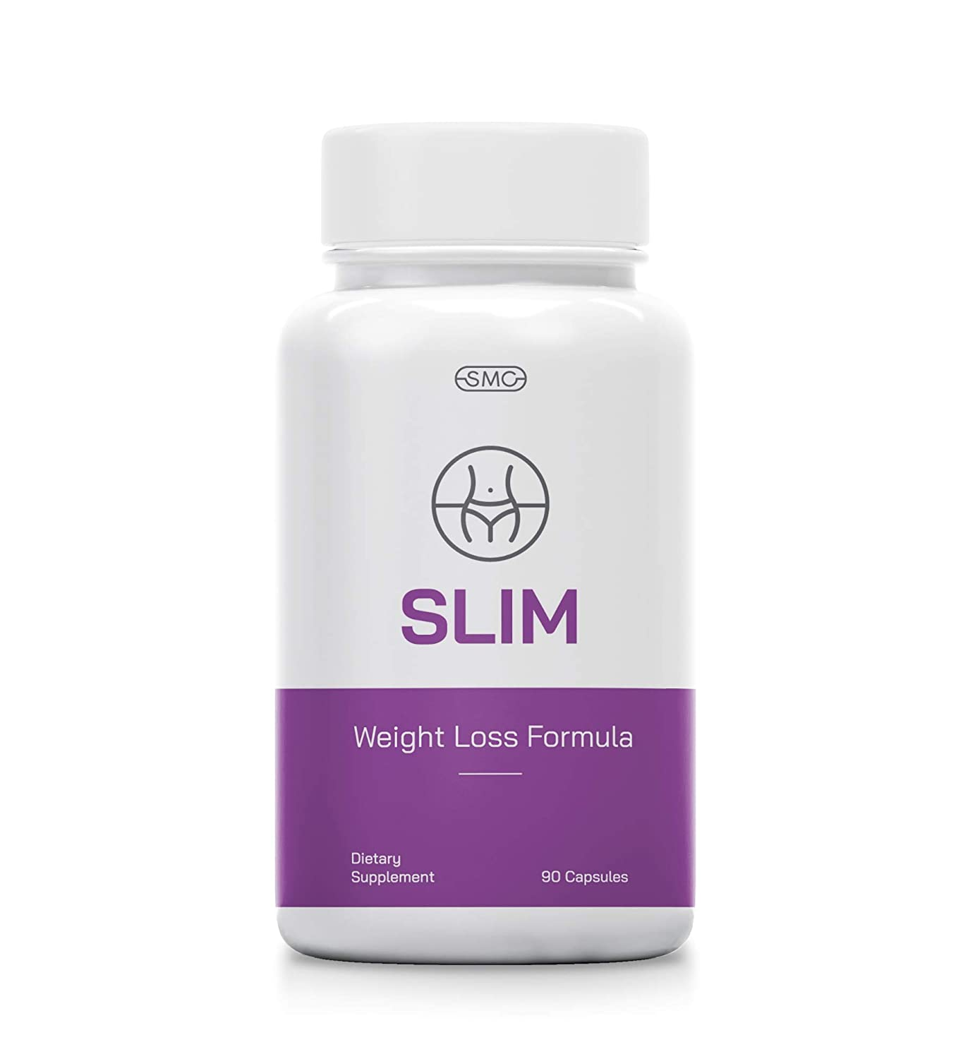 Slim Natural Herbal Weight Loss Pills for Women. 90 Capsules. Effective Appetite suppressant & Metabolism Booster Supplement. Safe & FDA Approved. Non-GMO, No-Soy, Gluten-Free, Nature Based.