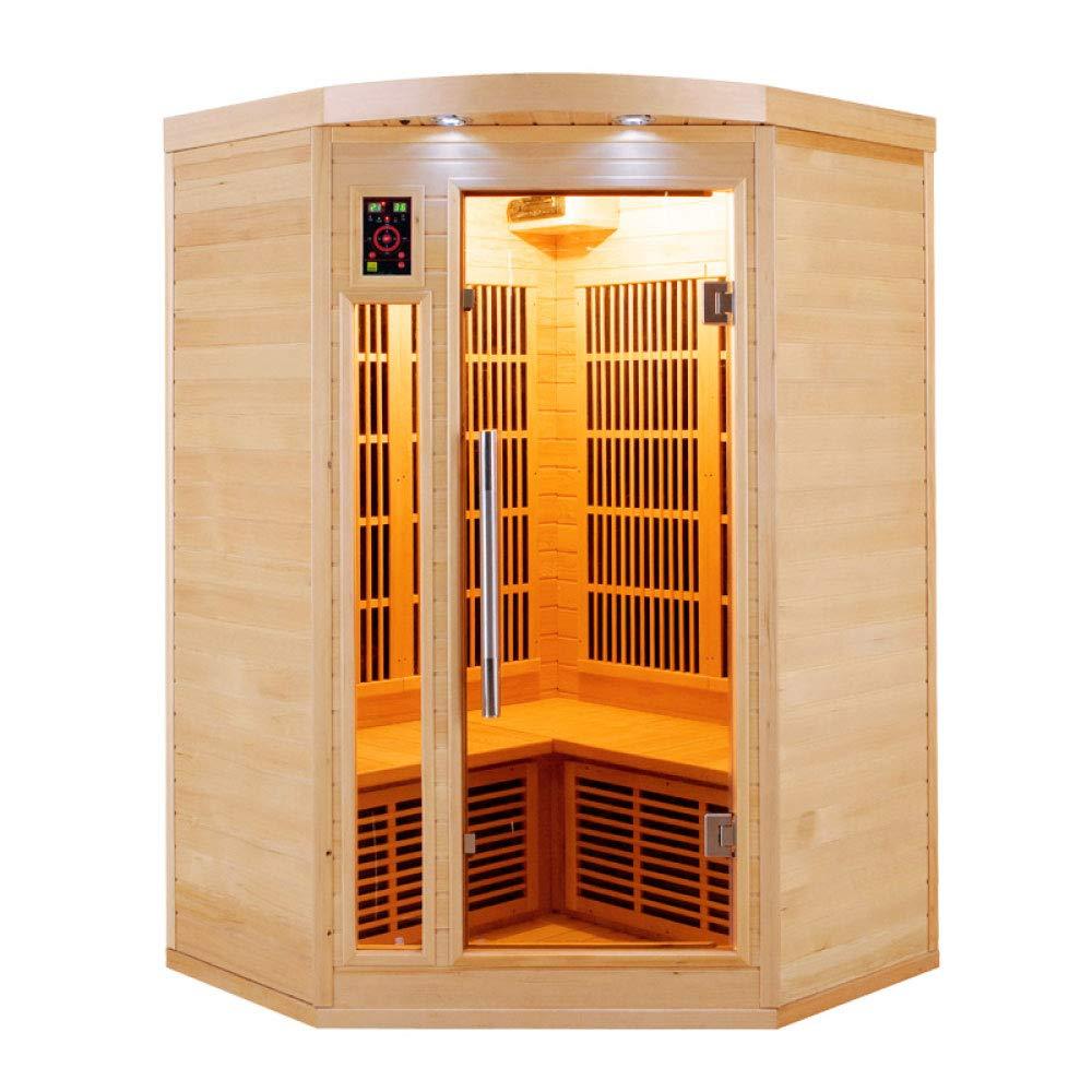 Sauna infrarrojo de esquina apollon 2-3 personas APOLLON2C France Sauna
