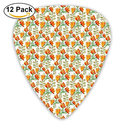 Blossoms Charming (Charming Blossom Garden Field Spring Branches Guitar Picks 12/Pack)