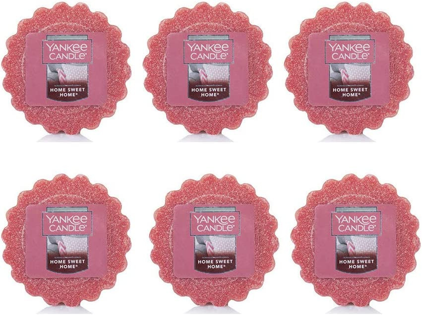 Yankee Candle Lot of 6 Home Sweet Home Tarts Wax Melts
