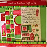 Christmas Fun Paper Crafting Kit