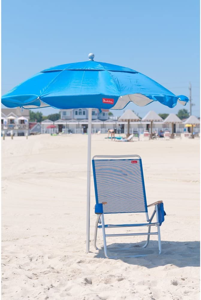 Frankford Frankford Beach Haven Beach Umbrella Pacific Blue Aluminum Amazon Ca Patio Lawn Garden