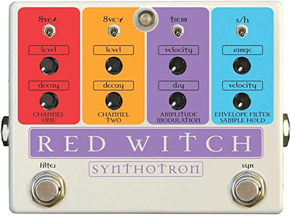 Red Witch Synthotron II Analog Synth Oscillator Pedal