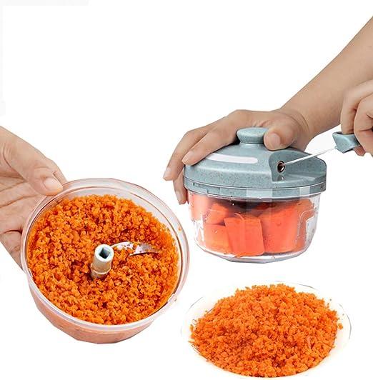 Picador de alimentos, Mini licuadora manual, Máquina cortadora de ...