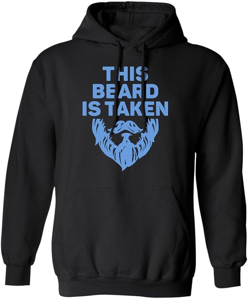 Hoodie Funny Bearded Boyfriend Husband Pures Designs This Beard is Taken Gift Tee