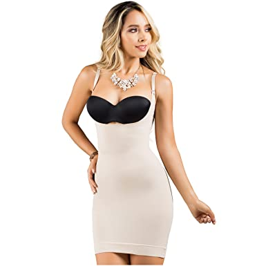 5674d5557b460 Rose 21701 Butt Lifter Shapewear Dress Fajas Colombianas Levanta Cola Beige