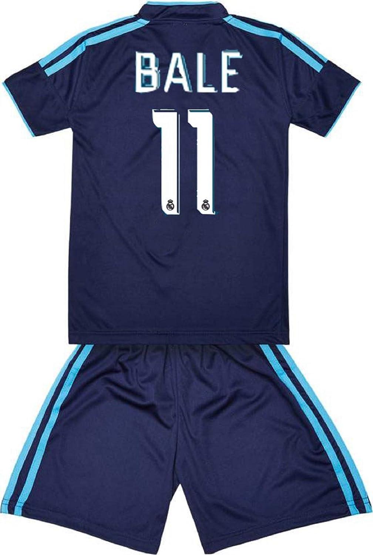 brand new 9ab07 b18f9 Sportyway Replica Kids Bale 11 Real Madrid Football Jersey Set Dark Blue