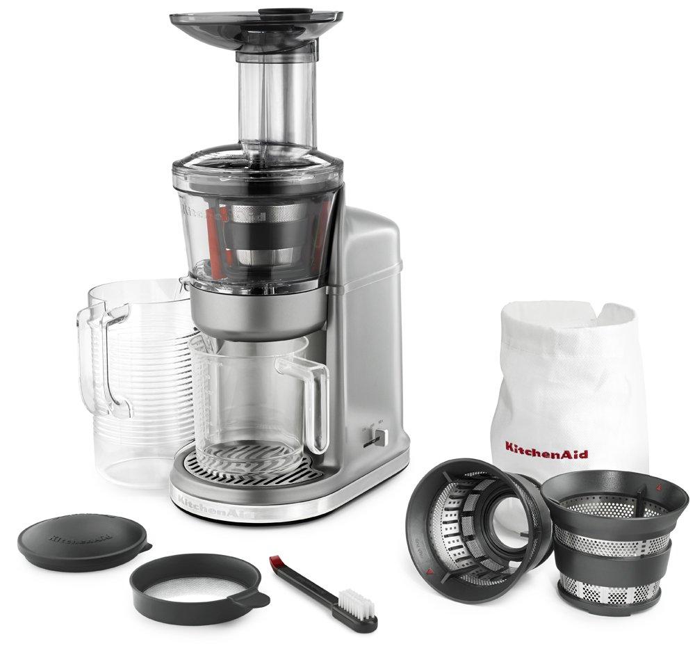 Amazon.com: KitchenAid KVJ0111CU Maximum Extraction Juicer, Contour ...