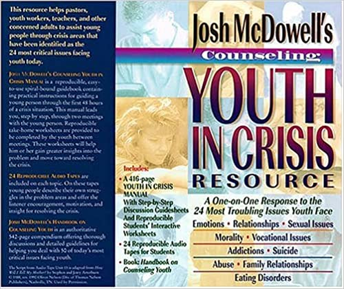 Amazon.com: Counseling Youth in Crisis Resource (9780849911538 ...