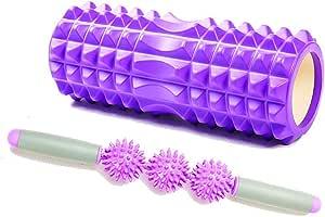 KRCC Yoga Brick Fitness Rodillo de espuma Pilates para