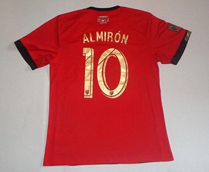 new arrival c7851 a82fa Miguel Almiron Signed Atlanta United FC Jersey Autographed ...