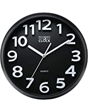 AuBergewohnlich Plumeet 33 Cm Große Wanduhr, Nicht Tickende Stille Quarz Dekorative Uhren,  Moderner Stil Gut