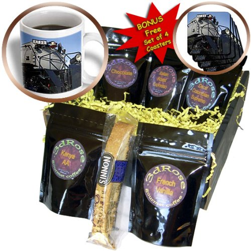 Danita Delimont - Trains - Union Pacific train, Kenefick Park, Omaha - US26 GHA0039 - Gayle Harper - Coffee Gift Baskets - Coffee Gift Basket (cgb_91535_1)