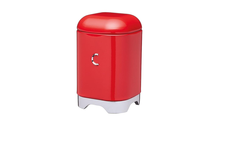Kitchen Craft - Barattolo Porta caffè Lovello, 11 x 19 cm, Colore: Rosso LOVCOFFEERED