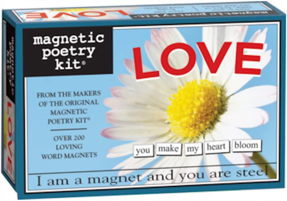 Magnetic Poetry - Love Kit - Words for Refrigerator - Write Poems and Letters on The Fridge - Made in The USA