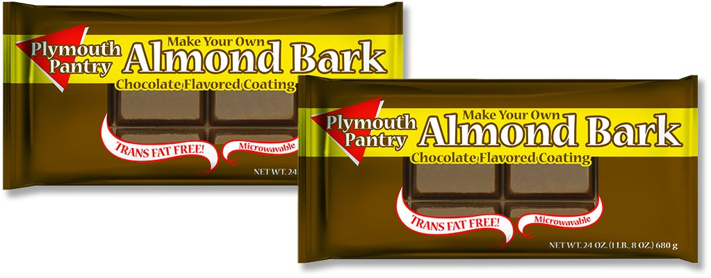 Plymouth Pantry Bark Coating, Chocolate, 24 Ounce (Pack of 2)