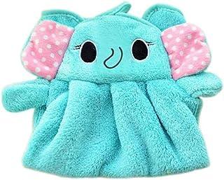 Lidahaotin Bonbons Couleurs doux velours corail Cartoon serviette animal peut être utilisé Hung cuisine # 2