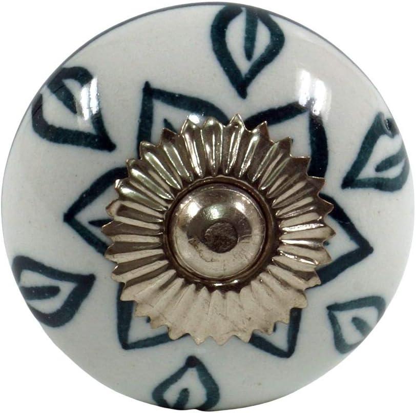 Pomoli per Mobili Classici Guru-Shop Mobili Manopola di Ceramica