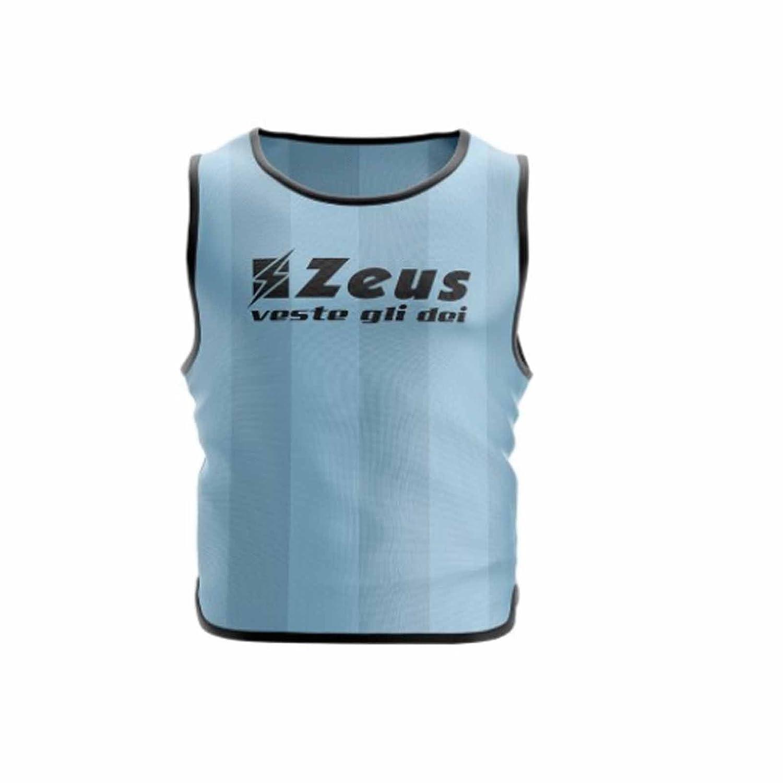 Zeus 10 PEZZI CASACCA PROMO PETTORINA ALLENAMENTO GINNASTICA TRAINING CORSA FITNESS PALESTRA CALCIO CALCETTO (CONFEZIONE 10 PEZZI)