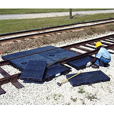 UltraTech Polyethylene Track Pan with Grates