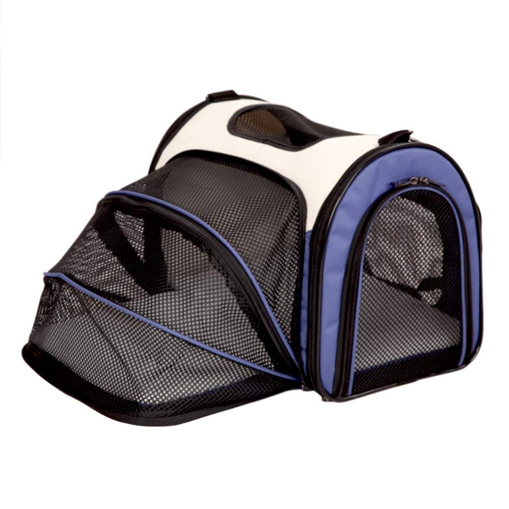 IRVING Pet Carrier for Small Dogs, Cats, Puppies, Kittens, Pets, Collapsible, Travel Friendly, Cozy and Soft Dog Bed, Carry Your Pet with You Safely and Comfortably (color   D, Size   S)
