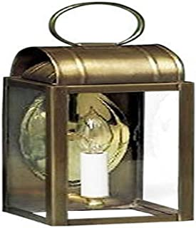 product image for Brass Traditions 151 DAAB Small Thin Wall Lantern 100 Series, Antique Brass Finish 100 Series Thin Wall Lantern