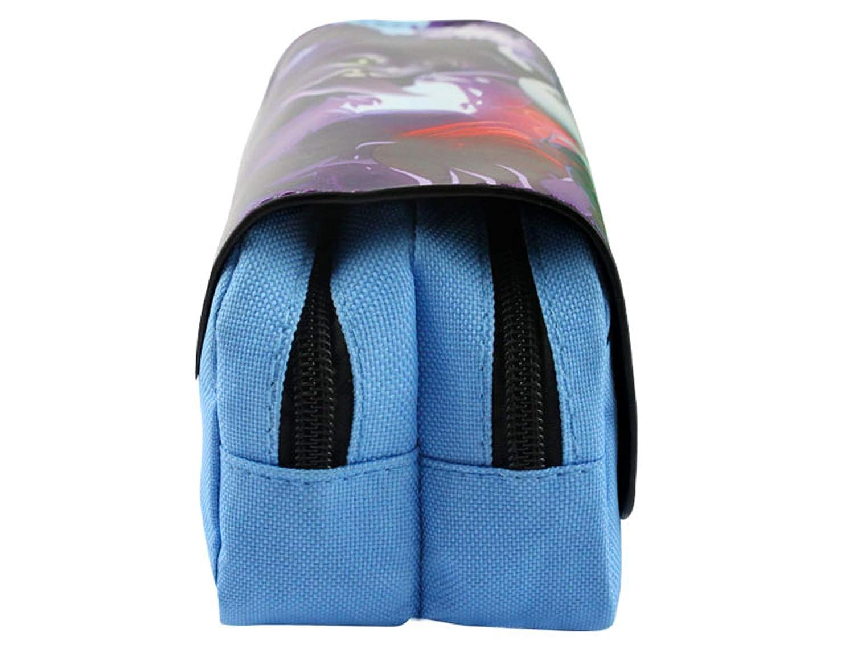 7ace6875f0 Onlyoustyle Astuccio Stampa 3D Sacchetto della Matita Penna Tela Borsa di  Scuola Forniture Zipper Cavi Portapenne